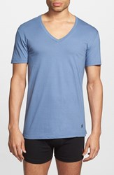 Men's Polo Ralph Lauren V Neck T Shirt Blue Assorted