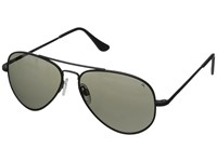 Randolph Concorde 57Mm Polarized Matte Black Gray Polarized Fashion Sunglasses