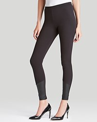 Guess Leggings Ankle Zip Jet Black