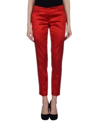 Richmond X Casual Pants Red