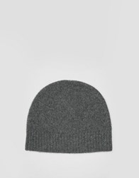 Selected Homme Beanie With Cashmere Grey