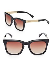 Minkpink 47Mm Wayfarer Sunglasses Black