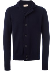 John Smedley 'Grable' Cardigan Blue