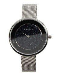 Skagen Denmark Timepieces Wrist Watches Women Dark Blue