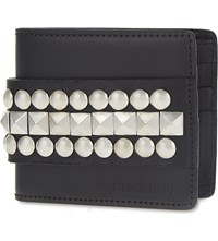 Dsquared2 Acc Studded Leather Wallet Nero