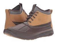 Sperry Sojourn Duck Chukka Boot Dark Brown Men's Lace Up Boots