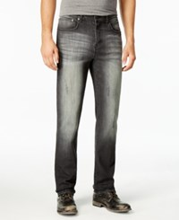 American Rag Men's Forest Slim Straight Fit Black Wash Jeans Only At Macy's