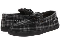Woolrich Lewisburg Charcoal Plaid '14 Men's Slippers Black