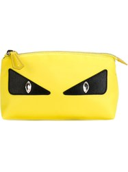Fendi Bag Bugs Make Up Bag Yellow And Orange