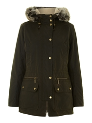 Barbour Kelsall Waxed Jacket Olive
