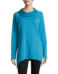 Marc New York Knit Cowlneck Tunic Frozen