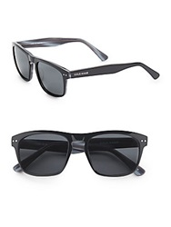 Cole Haan 54Mm Modified Wayfarer Sunglasses Black