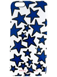 Marc Jacobs Star Print Iphone 6 Plus Case White