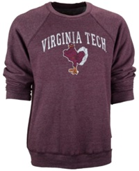 Retro Brand Men's Virginia Tech Hokies Fleece Sweatshirt
