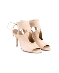 Aquazzura Sexy Things Suede Sandals