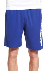 Men's Nike Sb 'Sunday' Dri Fit Shorts Royal Blue White