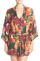 Josie Camo Print Happi Coat Camo Multi