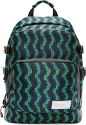 Marc By Marc Jacobs Green Neon Print D Lux Backpack