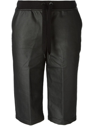 T By Alexander Wang Coated Track Shorts