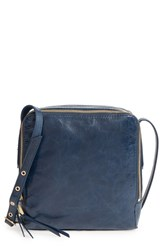 Hobo 'Small Lyra' Leather Crossbody Bag Blue Royal