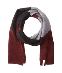 Coal The Dylan Scarf Heather Burgundy Scarves