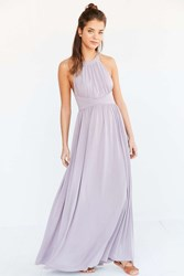Silence And Noise Silence Noise Goddess Knit Maxi Dress Lavender