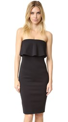 Bec And Bridge Banditti Strapless Dress Black
