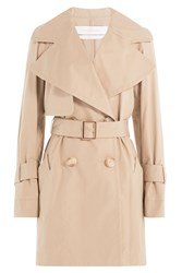 See By Chloe See By Chloe Cotton Trench Coat Beige