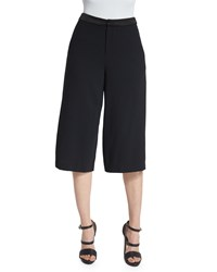 Alice Olivia Marlena Low Rise Gaucho Pants Black Size 6