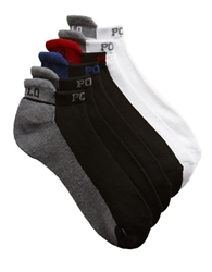 Polo Ralph Lauren Six Pack Technical Sport Socks