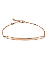 Jennifer Zeuner Jewelry Jennifer Zeuner Chelsea Horizontal Bar Bracelet Rose