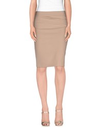 Annarita N. Skirts Knee Length Skirts Women Dove Grey