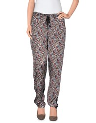 Custo Barcelona Trousers Casual Trousers Women Dark Brown