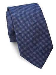 Ralph Lauren Textured Silk Tie Blue