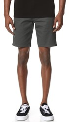 Obey Good Times Shorts Graphite