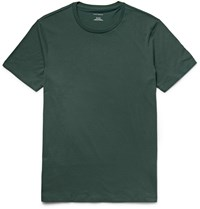 Club Monaco Williams Cotton Jersey T Shirt Green