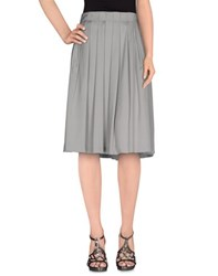 Tonello Skirts Knee Length Skirts Women Grey