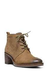 Sarto By Franco Sarto Women's 'Bethea' Lace Up Bootie Desert Khaki Leather