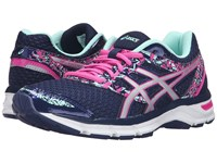 Asics Gel Excite 4 Blue Print Silver Mint Women's Running Shoes