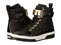 Love Moschino Hate High Tops Black Women's Shoes