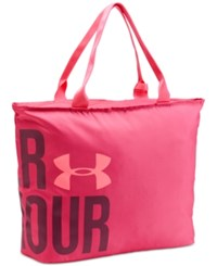 Under Armour Big Tote Bag Pink Sky Brilliance