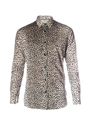 Saint Laurent Animal Print Shirt