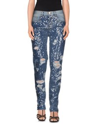 Pinko Denim Denim Trousers Women Blue