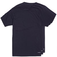 Uniform Experiment 3 Pack Crew Neck Cut And Sewn Tees Blue
