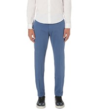 Tommy Hilfiger Slim Fit Stretch Cotton Chinos Blue