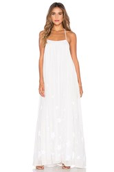 Mara Hoffman Low Back Maxi Dress White