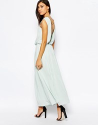 Jovonna Maxi Dress With Chain Back Mint Green