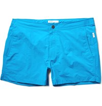Onia Calder Short Length Swim Shorts Blue
