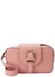 Meli Melo Microbox Pink Leather Cross Body Bag