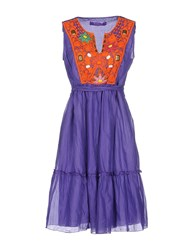 22 Maggio Dresses Short Dresses Women Purple